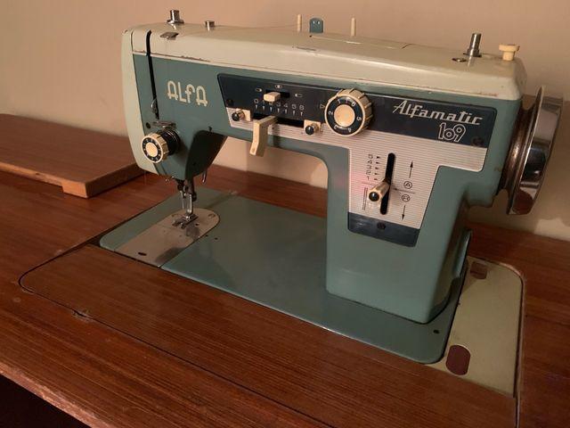 Maquina de coser ALFA Alfamatic 109 de segunda mano por