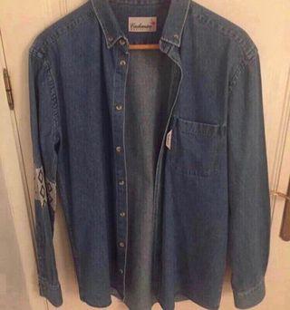 Camisa cachemira moda