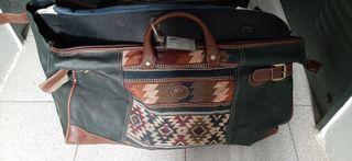 Juego de maletas vintage.