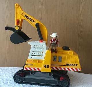 Mega excavadora Playmobil