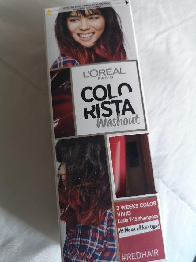 Mascarilla color pelo