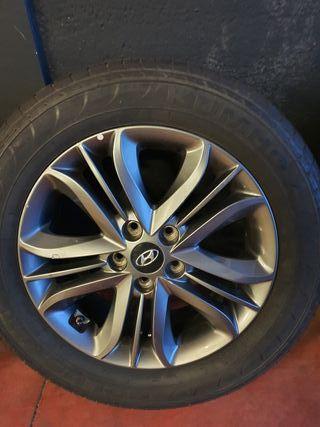 Llantas Hyundai Antracita 17