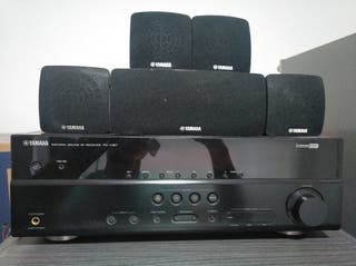 Amplificador, home cinema Yamaha