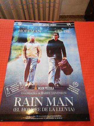 póster grande Rain Man