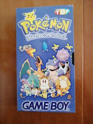 Película Pokemon Azul y Rojo Game Boy