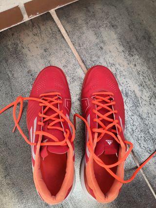 Zapatillas del padel adidas talla 45 1/3