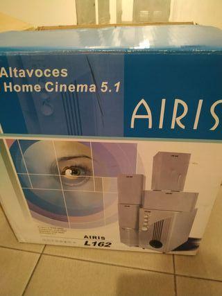 Altavoces home cinema sin estrenar