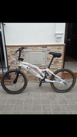 se vende bici monty iump negociable