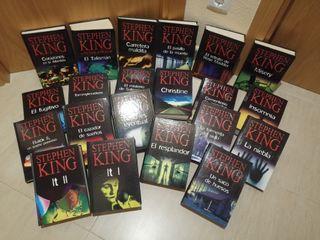 Colección libros novela Stephen King