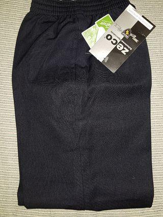 pantalón escolar talla 6 / 7 años azul
