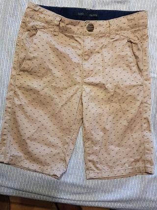 pantalon corto de niño IKSS talla 8