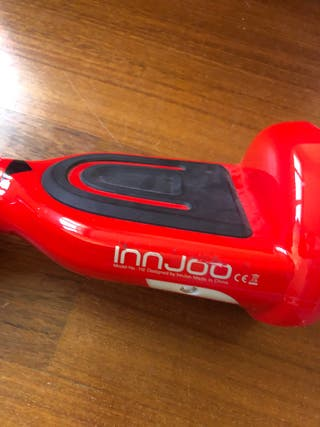 Patinete eléctrico Hoverboard Innjoo H2 rojo