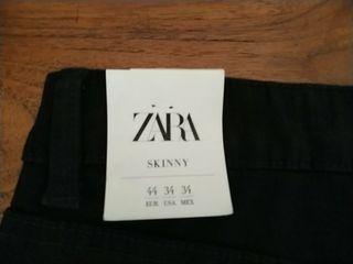 Tejano nuevo Zara talla 44
