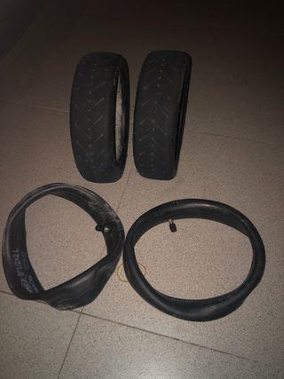 Neumático delantero y trasero Original