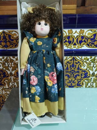 muñeca de porcelana Josefina y Ramón ingles