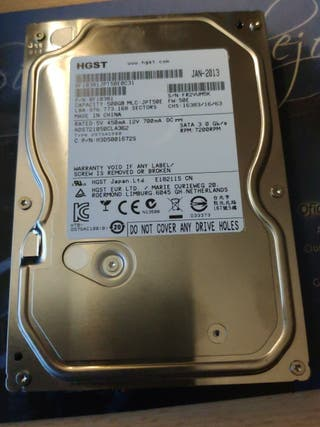 "Disco duro 500GB SATA Hitachi 3.5"""