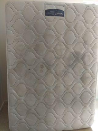 Double size mattress - Silentnight Miracoil