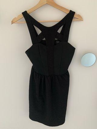 Vestido Top shop negro