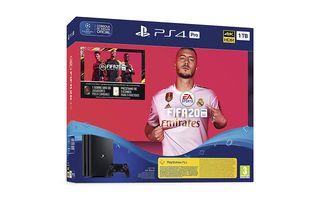 CONSOLA SONY PS4 PRO 1TB + JUEGO FIFA20