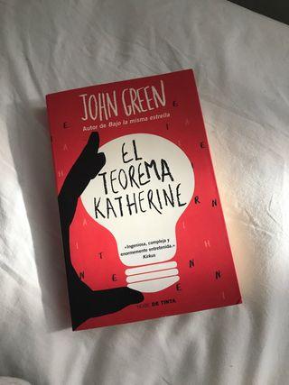 LIBRO EL TEOREMA KATHERINE DE JOHN GREEN