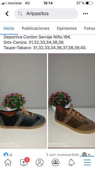 Zapatos infantiles nuevos
