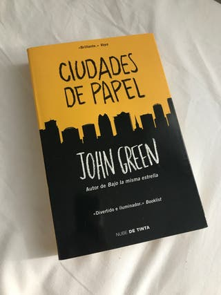 LIBRO CIUDADES DE PAPEL DE JOHN GREEN