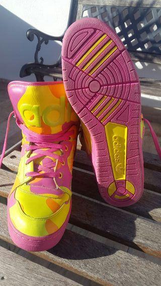 Adidas colector JEREMY SCOTT Instinct Hi Neon