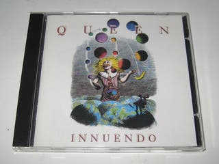 "CD musical Queen ""Innuendo"""