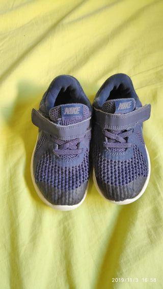 zapatillas nike niños 26