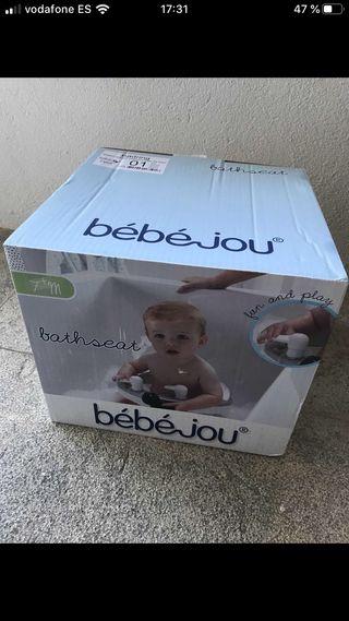 ASIENTO BAÑERA BEBE BEBEJOU para bebe