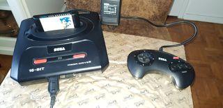 SEGA Megadrive manette jeux Sonic