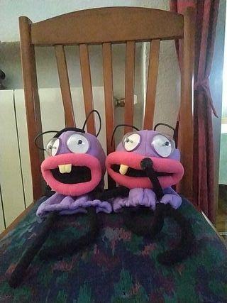 marionetas Trancas y Barrancas antiguas