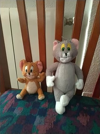 Tom y Jerry peluches antiguos