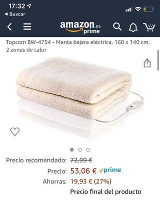 Manta electrica / Calienta Camas - Cama doble