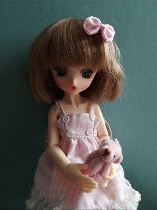 Rebaja!! hasta 25 dic! Bjd Chibi (Pink skin) recas