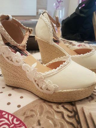 sandalias novias