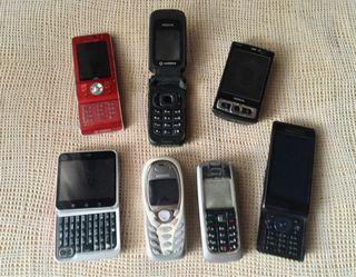 Lote móviles vintage