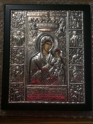Icono Bizantino de plata 925