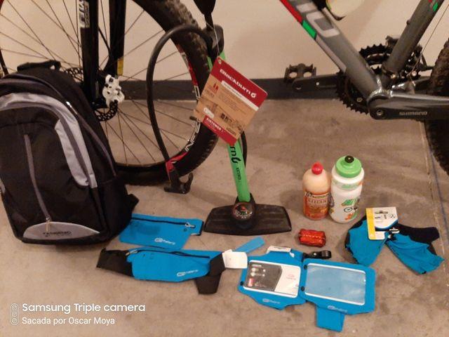 Bici montaña con bici infantil de regalo