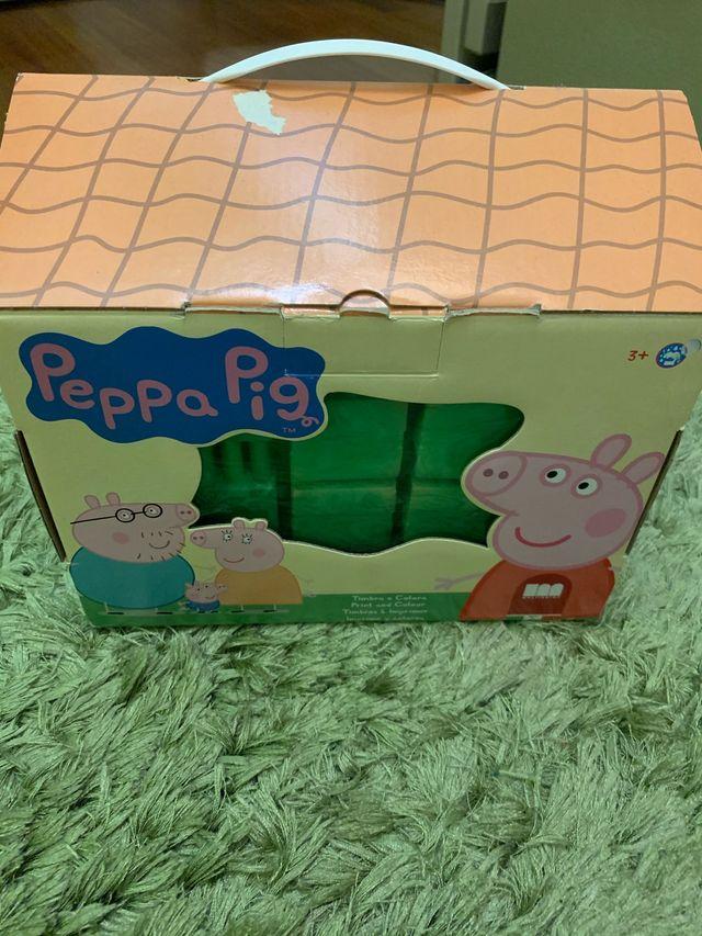 Imprime y colorea Peppa Pig