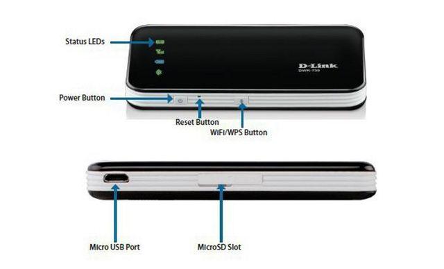 HSPA+Mobile Router DWR-730