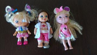 3 Muñecas pequeñas Famosa