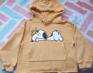 Sudadera Snoopy niña T. 7 Zara