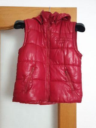 Chaleco Anorak abrigo tipo plumas niño 7/8 años