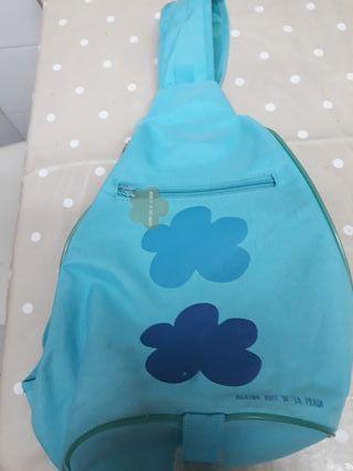 mochila agatha ruiz de la prada azul turquesa nube