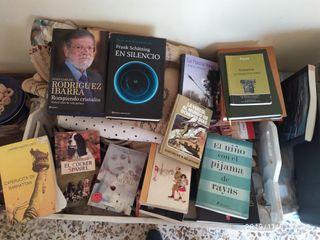 lote de libros varios titulos