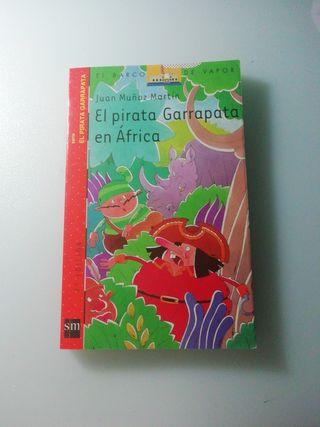 """Libro """"El pirata garrapata en África"""""""