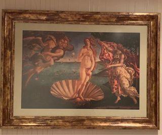 Cuadro El Nacimiento de Venus de Botticelli
