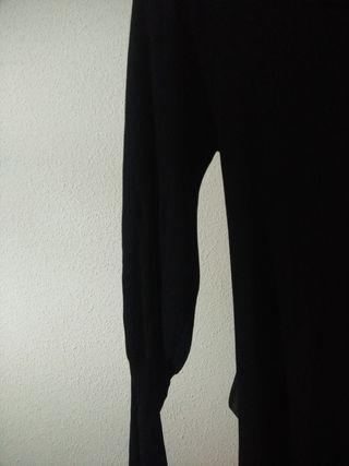 Vestido de punto manga abullonada, sin estrenar