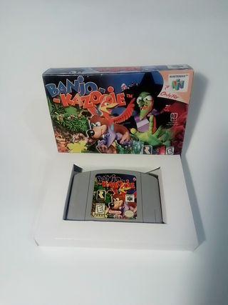 Banjo Kazooie juego Nintendo 64